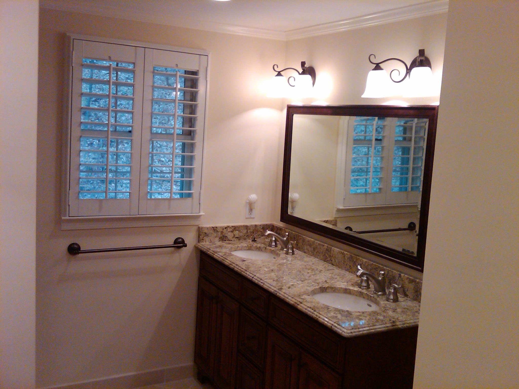 Bathroom remodeling in brighton mi landmark contractors for Bathroom renovations brighton