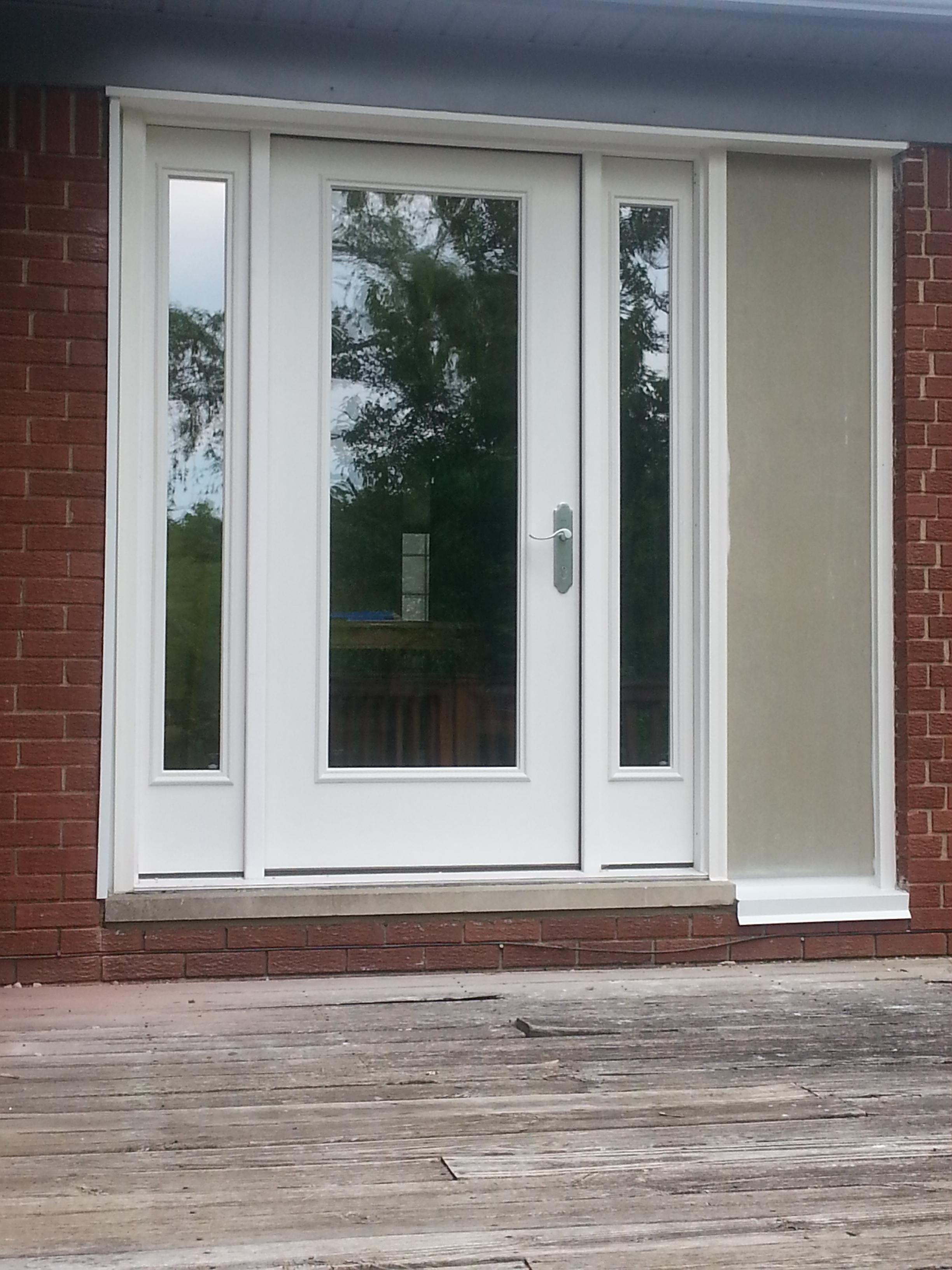 3264 #613F38 2013 06 06 17.15.27 Therma Tru Fiberglass Door With Sidelights save image Fiberglass Entry Doors With Sidelights 42172448