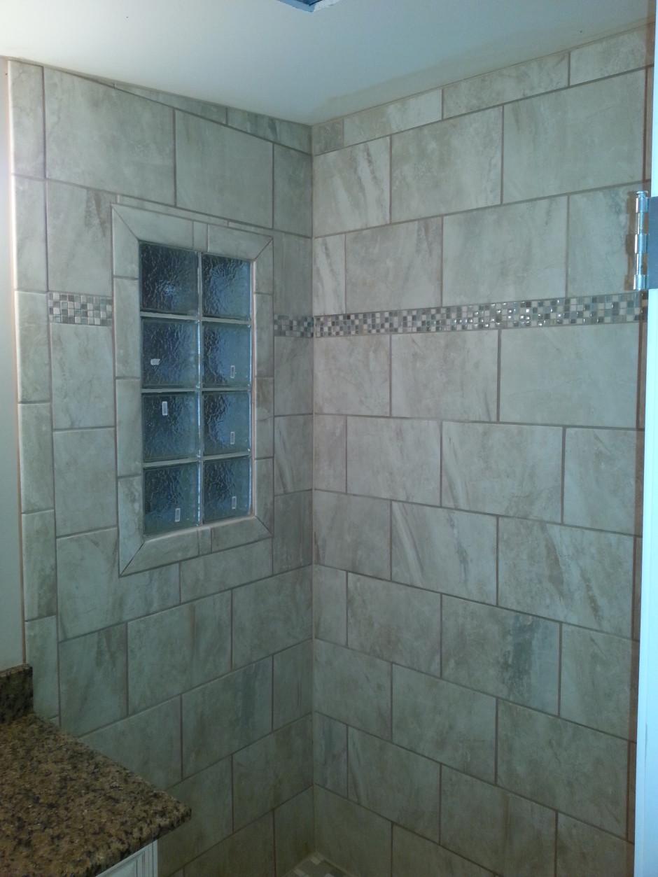 Another Custom Tile Bathroom Landmark Contractors