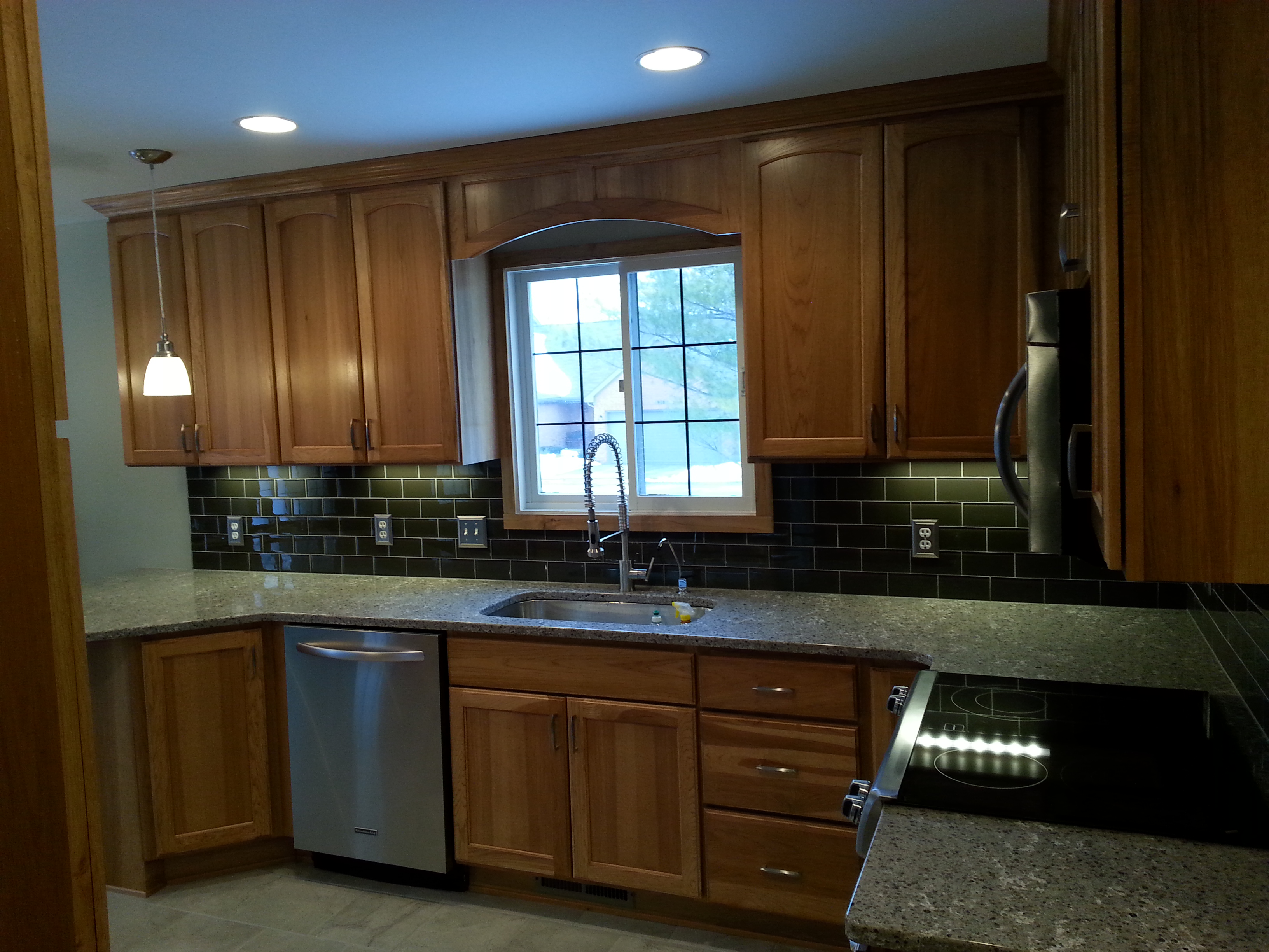 Remodeled Hickory Kitchen Landmark Contractors