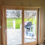 Recently installed Andersen 400 series patio door