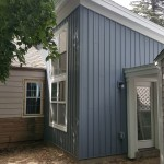 Board and batton vinyl siding